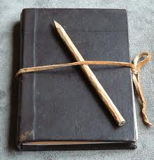 journal and pencil