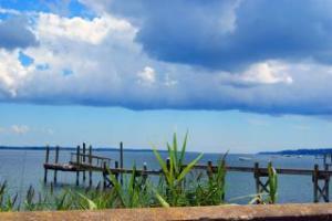 ocean and dock